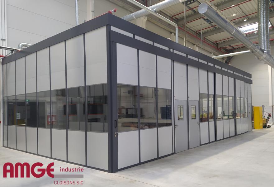 cabine modulaire pour aménager les bâtiments professionnels