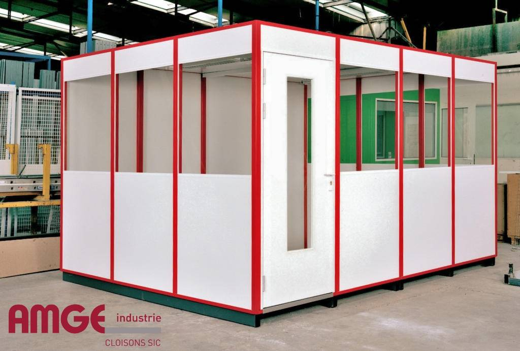 Cabine d'atelier simple paroi par AMGE industrie