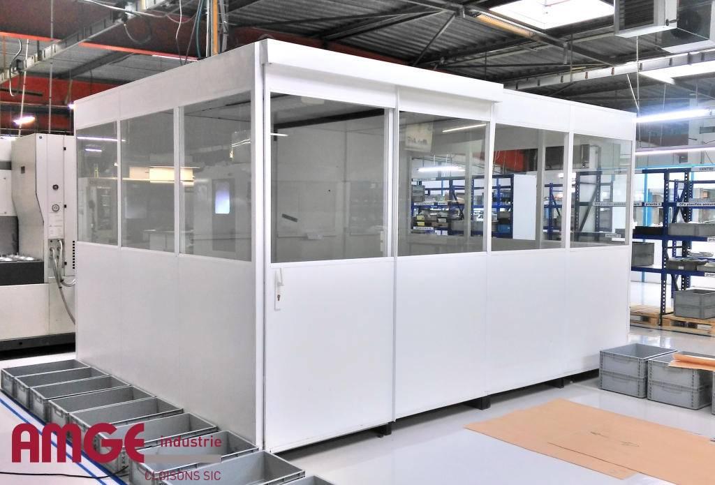 Bureaux Mobiles Pour Amenager Au Plus Vite Amge Industrie