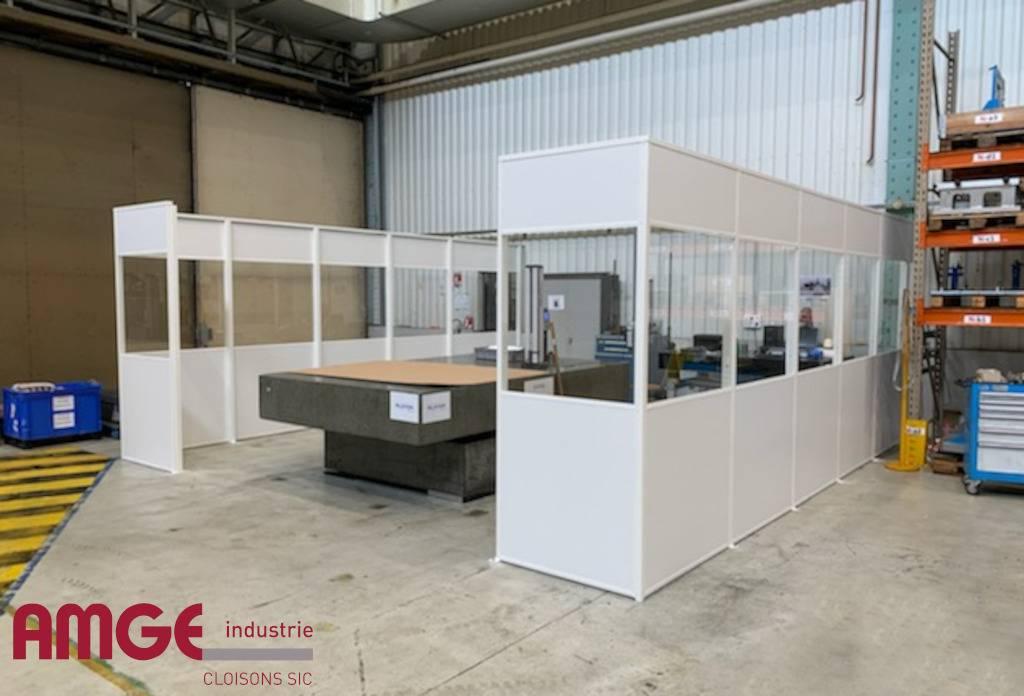 cloison d'atelier modulaire PRIMA