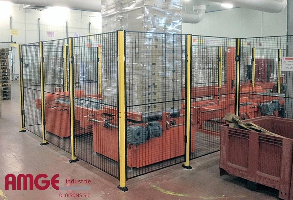 cloison grillagée de sécurité ECO PROTECT par AMGE industrie