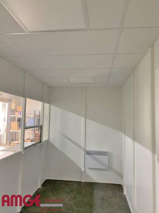 Bureau d'atelier modulaire