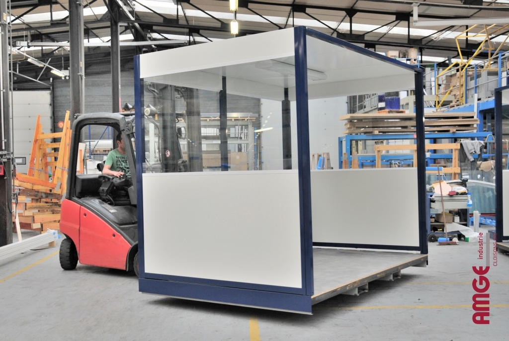 AMGE industrie construction modulaire montée d'usine