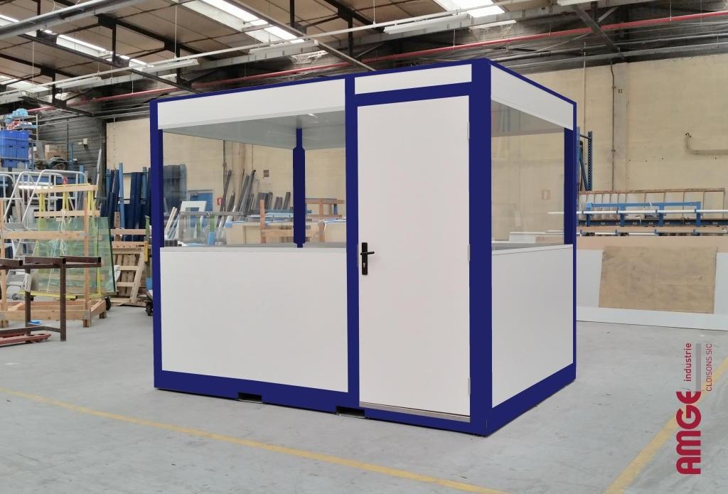 AMGE industrie bureau mobile Grand Angle