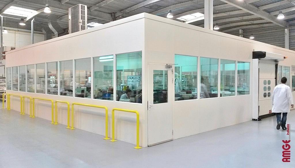 AMGEindustrie salle blanche sur mesure