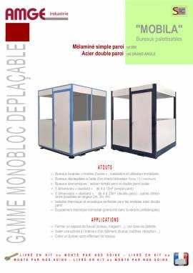 bureaux palettisables par AMGE industrie