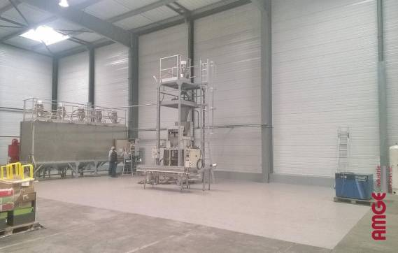 Chantier COFFEA par AMGE industrie :