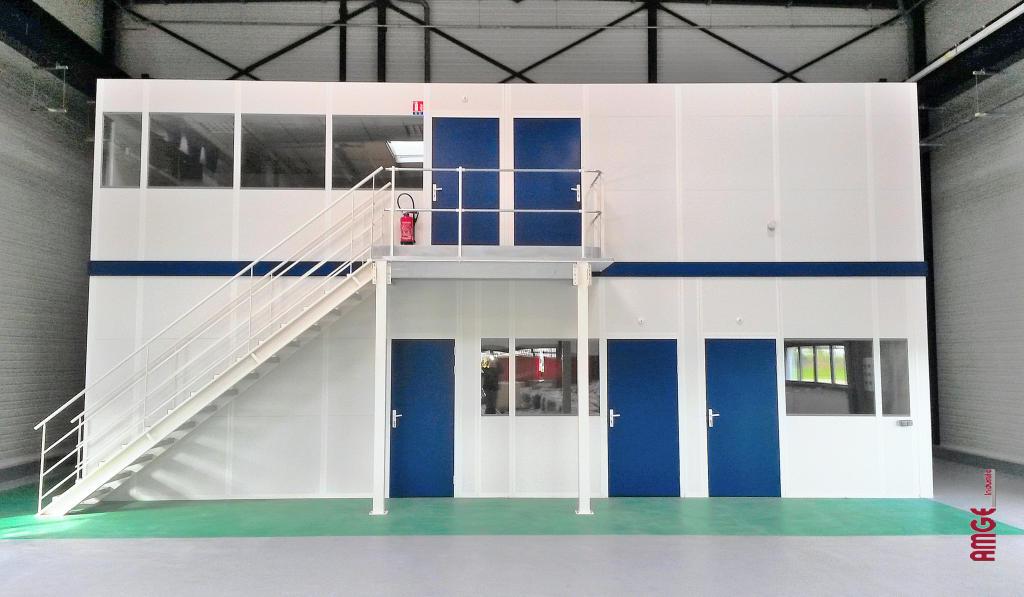 Les applications pour nos cloisons d 39 atelier cabine et for Paroi vitree industrielle