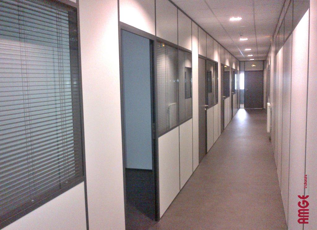 Les applications pour nos cloisons d 39 atelier cabine et - Cloison de separation bureau ...